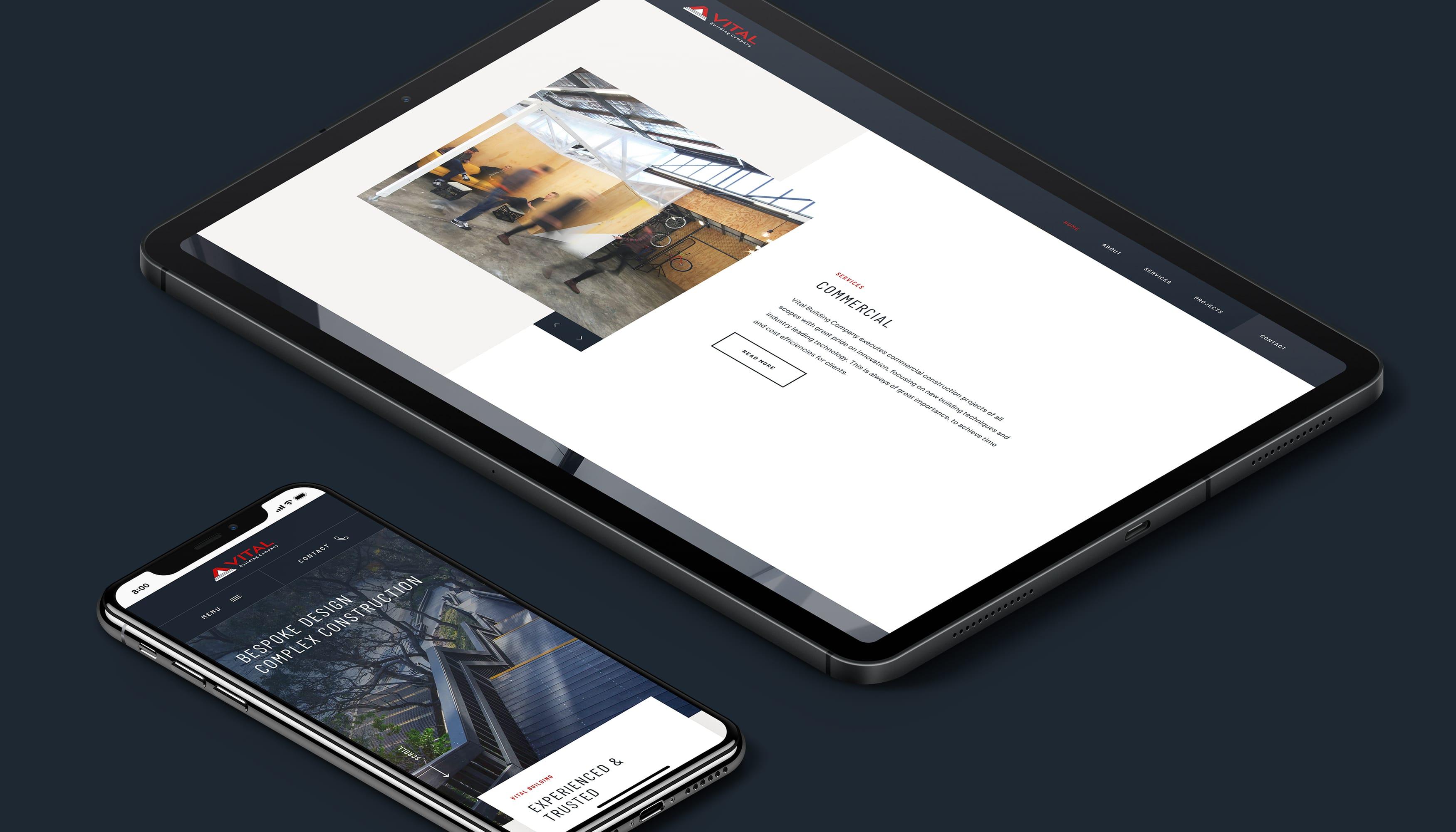 Vital Building Company | Pixel Whip Creative